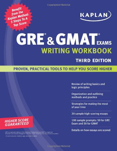 Kaplan GRE and GMAT Exams Writing Workbook