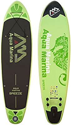 Aqua Marina Breeze Sup Inflatable Stand Up Paddle Surf tarjeta Modelo 2016