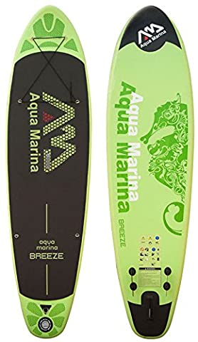Aqua Marina Breeze SUP Inflatable Stand Up Paddle Surfboard Model