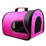 Haustiertragetasche Transportbox für Hunde Katzen Tragetasche Haustier Tragetasche Pet Travel tragbare Tasche Reise Trägerkäfig
