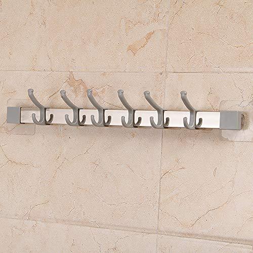 ontiert Kunststoff-Garderobe Schlüsselhaken Hauseingang Deco Hut Handtuch Geldbörse Roben Kleiderbügel für Badezimmertür,1# ()