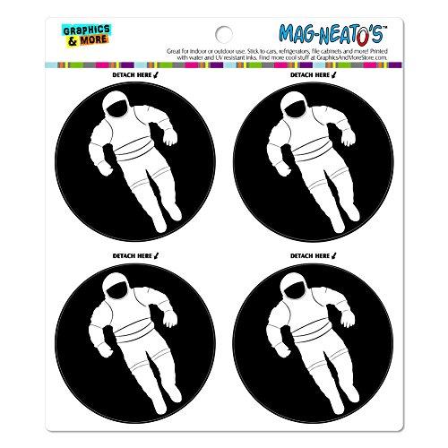 Astronaut Raumanzug Mag-Neato 's-TM) Automotive Car Kühlschrank Locker Vinyl Magnet (Astronaut Raumanzug)