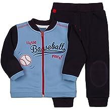 Be Mammy Conjunto Sudadera y Pantalones para Bebé-Ni?os Baseball 2311