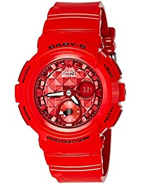 Casio Baby-g Analog-Digital Red Dial Women's Watch - BGA-195M-4ADR (B182)