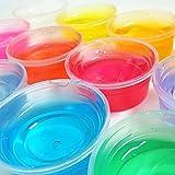 TWIFER Ton Schleim DIY Kristall Schlamm Spielen Transparent Magische Plastilin Kid Spielzeug (Mehrfarbig, 1PC)