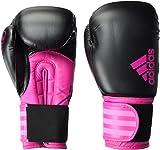 adidas Hybrid Boxhandschuhe, Black/Shock Pink, 8