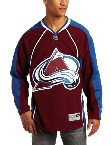 Reebok NHL Colorado Avalanche Premier Jersey, Herren, 7185AHPJCAV 030, kastanienbraun, XXL Premier Performance Jacket