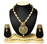 Satyam Jewellery Nx Gold Plated Pearl Ne...