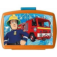 Preisvergleich für POS Handels GmbH Brotdose mit Einsatz | Feuerwehrmann Sam | Box Frühstück | Kinder Vesper Dose