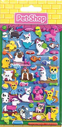 Paper Projects Proyectos de Papel Tienda de Animales para niños Craft Pegatinas