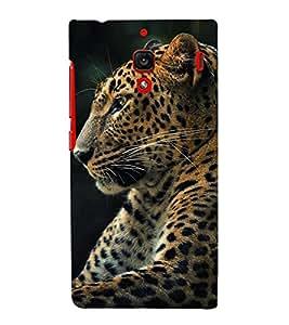 HiFi Designer Phone Back Case Cover Xiaomi Redmi 1S :: Xiaomi Hongmi 1S ( Cheetah Side look )