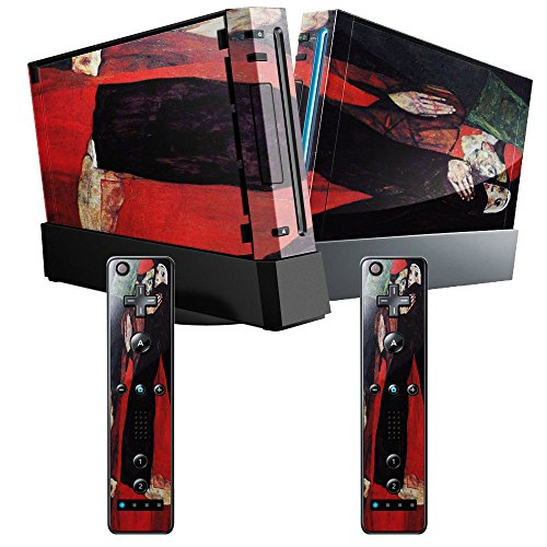 schiele-cardinal-and-nun-the-caress-skin-sticker-vinyl-cover-with-leather-effect-laminate-and-colorf
