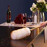 DADAO-Lana limpia de polvo electrostático duster brush automotriz hogar polvo limpiador de pelusa DUSTER