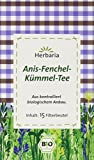 Herbaria Anis-Fenchel-Kümmel-Tee 15FB, 2er Pack (2 x 30 g) - Bio