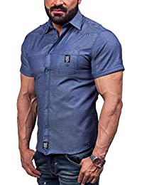 BOLF – Chemise casual – avec manches courtes – BOLF 6518 – Homme