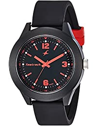 Fastrack Analog Black Dial Unisex Watch-NG38003PP05C