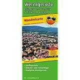 Wanderkarte Wernigerode - Elbingerode - Ilsenburg - Schierke am Brocken: Mit Ausflugszielen, Einkehr- & Freizeittipps und Stadtplan Wernigerode, wetterfest, reissfest, abwischbar, GPS-genau. 1:25000