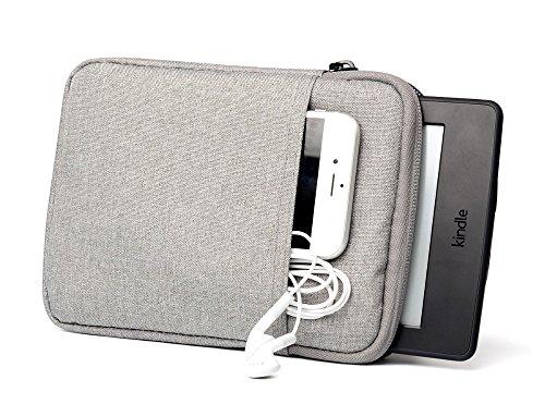 Schutzhülle Sleeve Tasche Fall Beutel Cover für Tolino Vision 4HD Tolino Vision 3HD Tolino Shine 2HD Tolino Seite (hellgrau)