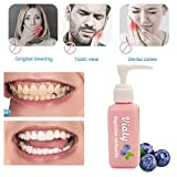 Dentifrice sans fluor Bicarbonate De Soude blanchiment des dents combattre la carie...
