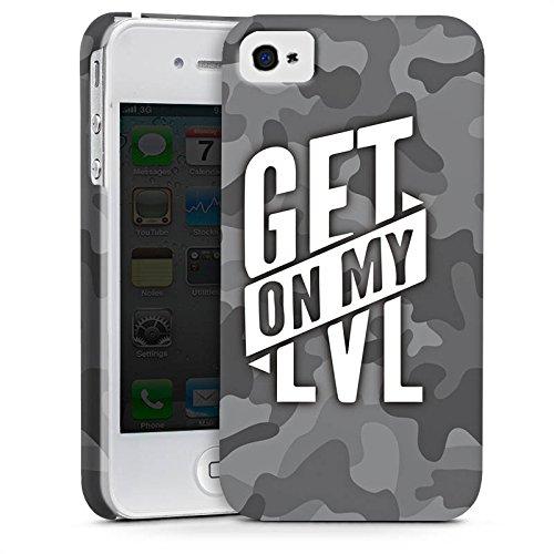 Apple iPhone 8 Hülle Premium Case Cover Montanablack Fanartikel Merchandise Get On My Level Gray Premium Case glänzend