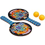 ShopMeFast Awals Multicolor Wooden Table Tennis Rackets Game Set For Kids