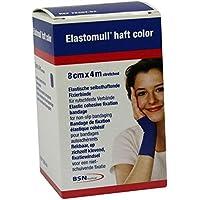 Elastomull haft 4mx8cm 72207-04 blau Fixierbinde 1 stk preisvergleich bei billige-tabletten.eu