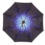 Pieghevole antivento ombrelli Strong Open Close compatto pieghevole ventilato ombrello per pioggia da viaggio compatto ultra mini da tasca anti-UV ombrellone antivento taglia unica 6