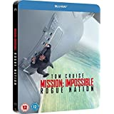 Mission Impossible Rogue Nation Limited Edition Steelbook/ Dolby Atmos / Region Free Blu Ray.