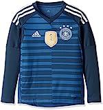 adidas Kinder DFB Torwart-Heim Langarm-Trikot, Trace Royal/Sub Blue/White, 152