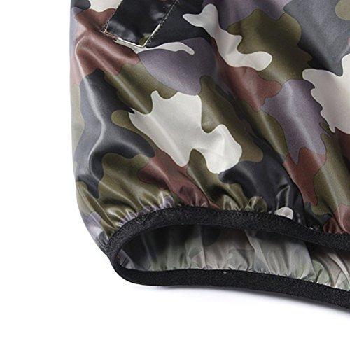 Zhhlaixing Fashion De plein air Wild Jacket Men Camouflage Zipper Ultra-Thin Jacket Camouflage green