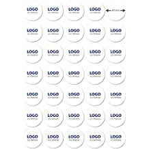 12000 Etiketten rund Durchmesser Ø 40 mm weiß DIN A4 Label Sticker Aufkleber