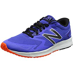 New Balance Flash V2, Zapatillas de Running para Hombre, Azul (Blue/Black), 44.5 EU