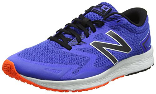 New Balance Flash V2, Zapatillas de Running para Hombre, Azul (Blue/Black), 44.5 EU