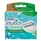 Wilkinson Sword Intuition Naturals Sensitive Care Klingen, 6 Stück -