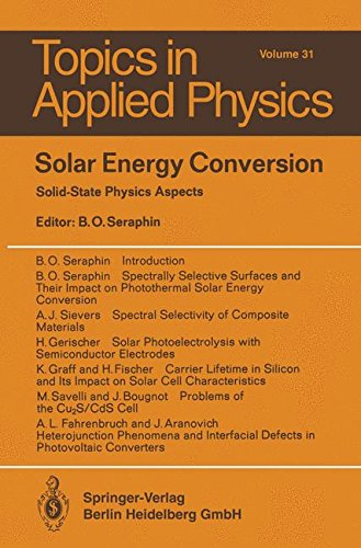 Price comparison product image Solar Energy Conversion (Topics in Applied Physics)