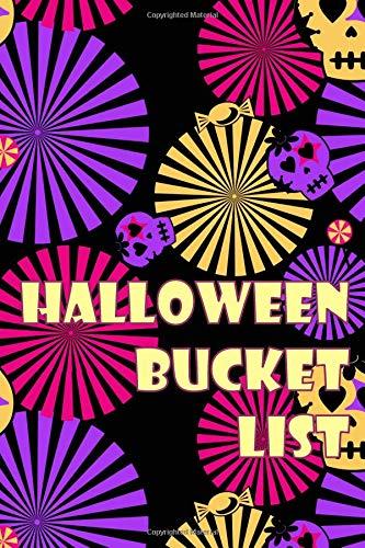 Halloween Bucket List: Guided Journal for 50 Ideas