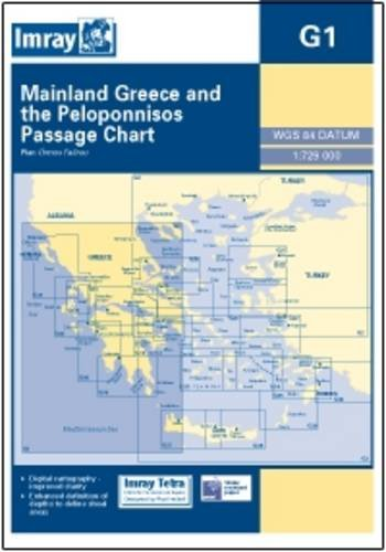 imray-chart-g1-mainland-greece-and-the-peloponnisos