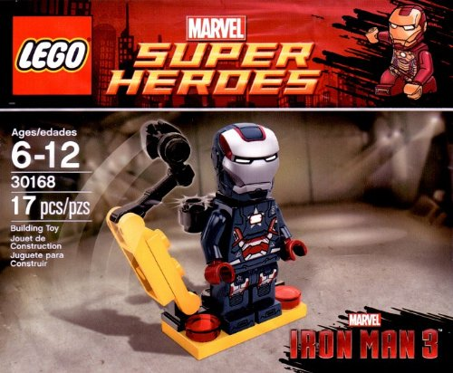 LEGO Super Heroes Iron Man 30168 Iron Patriot Iron Man 3