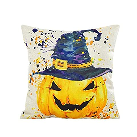 Happy Halloween Pillow Cases, Longra® Dyeing Sofa Bed Home Decor