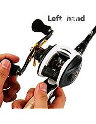 Sougayilang Canne à pêche avec moulinet combos gauche/droite