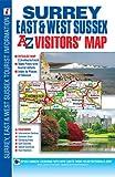 Surrey Sussex Visitors Map (A-Z Visitors Map)