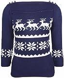 Küstenluder Damen Oberteil Lezlie Deer Pullover Mehrfarbig S