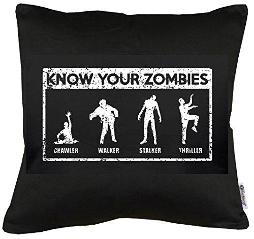 s Kissen mit Füllung 40x40cm (Street Zombie Kostüm)