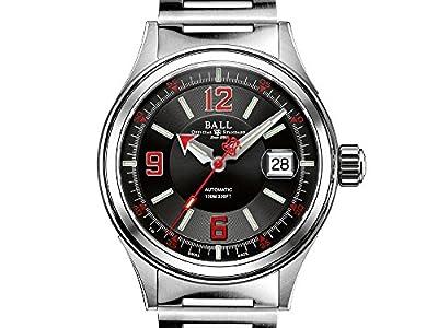 Ball Fireman Racer Automatic Watch, Stainless steel, NM2088C-S2J-BKRD
