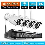 Best ANNKE Telecamere - ANNKE 1080P Kit Videosorveglianza WiFi NVR 4 Canali Review