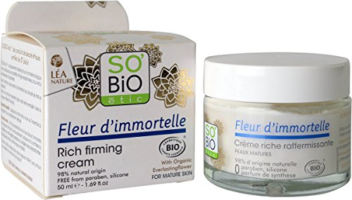 So'Bio Étic Crème Riche Raffermissante fleur d'immortelle Bio Pot de 50 ml