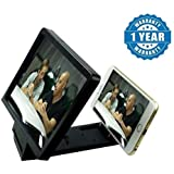 [Sponsored Products]Twogood Black Mobile Phone Enlarge Movie Screen HD Magnifier 3D Portable Folding Stand ScreenCompatible With Xiaomi Mi, Apple IPhone, Samsung, Sony, Lenovo, Oppo, Vivo And ALL Smartphones (1 Year Warranty)