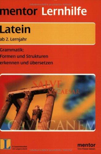 Mentor Lernhilfe Latein. Grammatik mit Spaß. Ab 2. Lernjahr. RSR.