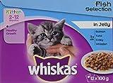 Whiskas Bolsas de Gato para Pesca en gelatina