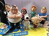 United Labels Set Completo N° 8 Mini Figure dei Griffin da 5-8 CM - Family Guy